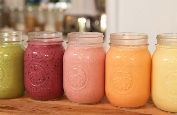 10 HEALTHY BREAKFAST SMOOTHIE COMBINATIONS