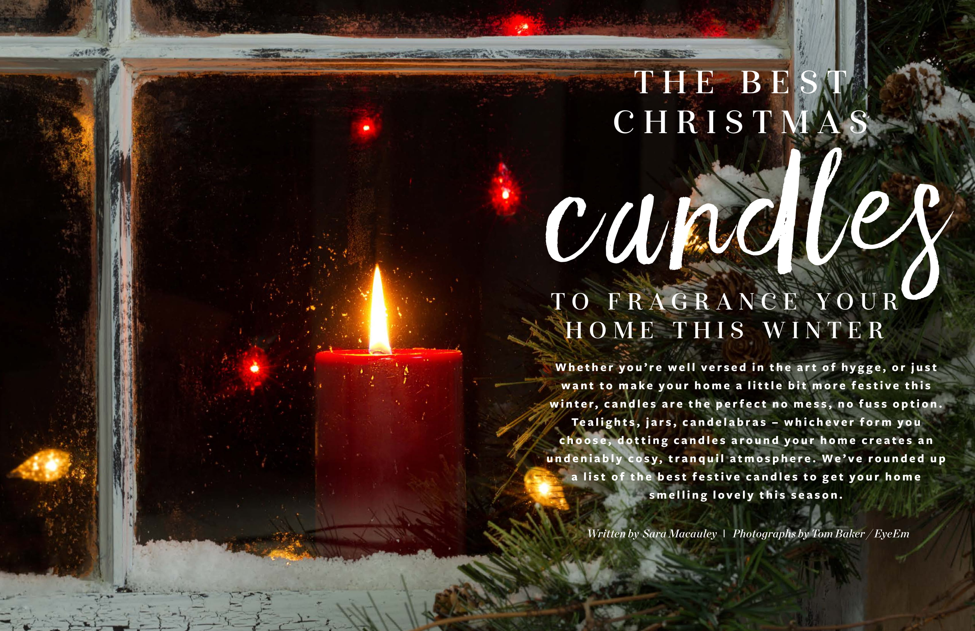 Best Christmas Candles 2018.Fragrance Your Home This Winter With Candles Wom Magazine